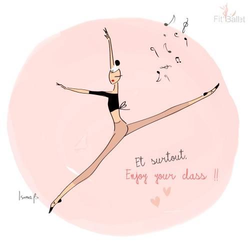 Fit'Ballet vous propose 3 possibilités de cours en ligne