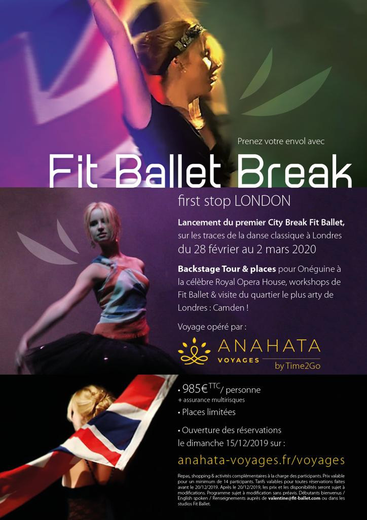 Fit'Ballet Break : London